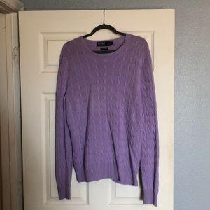 100% Cashmere Ralph Lauren Polo Sweater